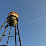 Downtown Campbell Water Tower