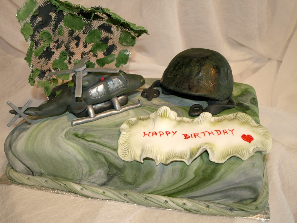 Army Birthday Cake A Photo On Flickriver