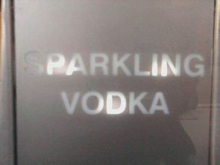 Sparkling Vodka - Gerry's Off Licence - Old Compton Street