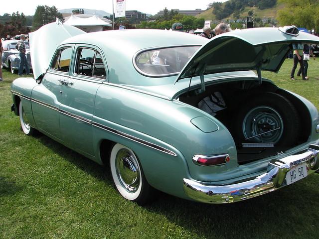 1950 mercury 4 door sport sedan 2 photographed at the for 1950 mercury 2 door coupe