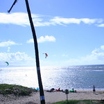 Kiteboarders on Maui