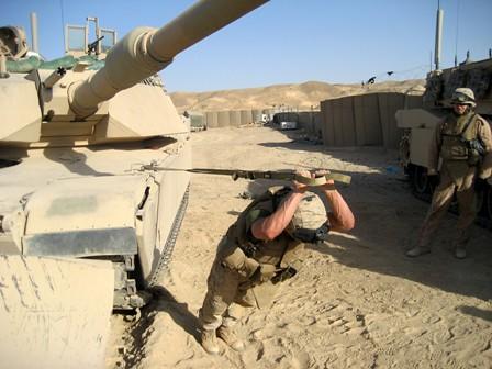 Military Triceps Press - Tank