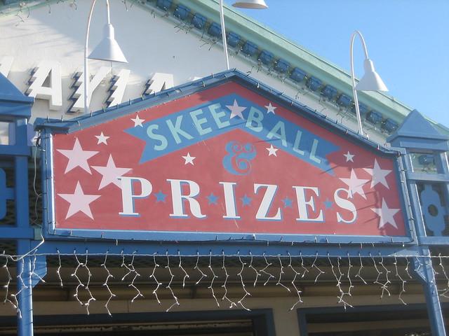 Skeeball & Prizes