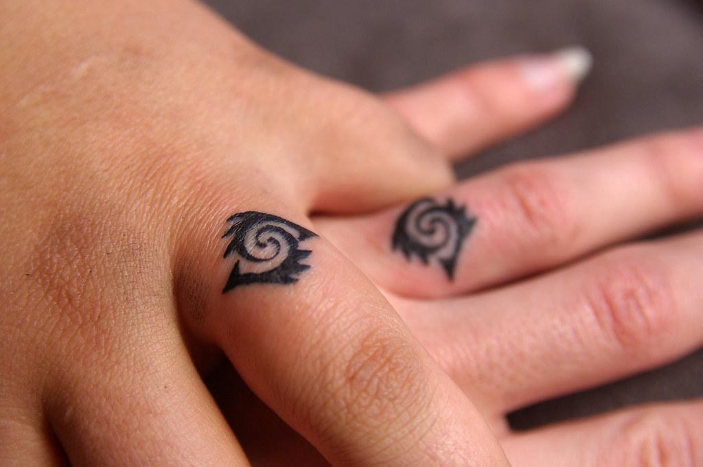 Heart Wedding Ring Tattoos: WEDDING RING TATTOO DESIGN. WEDDING RING