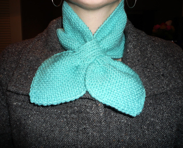 Knitting Pattern For Small Neck Scarf : Knitted Neck Scarf Flickr - Photo Sharing!