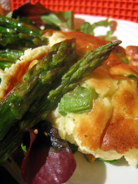 Cheese and Asparagus Souffle 034 | Flickr - Photo Sharing!