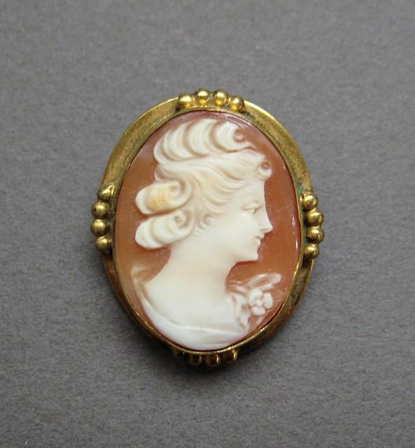 antique cameo brooch or pendant 12k gf flickr photo