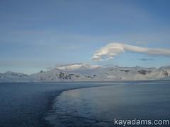 Blue Sky White Ice