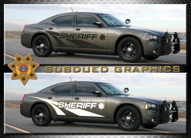 Eagle County Sheriff Charger Colorado Subdued Graphics