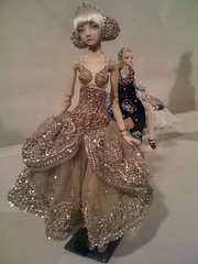 bridal clothing, gown, costume design, fashion, fashion design, wedding dress, haute couture, dress, doll, toy,