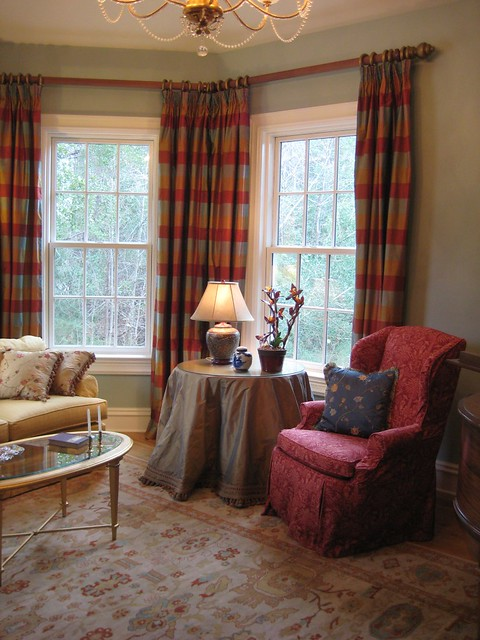Photo for Traditional window treatments living room