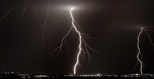 sky storm night clouds lawrence bright kansas lightning kansasthunderstorms
