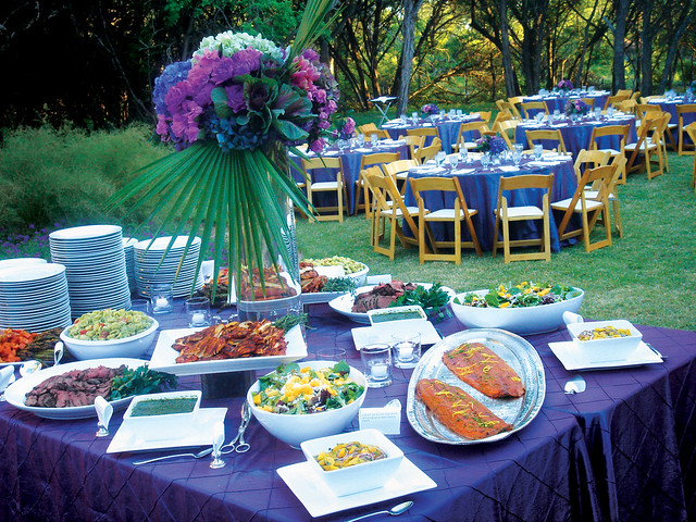 Jewel-Toned Dinner Party