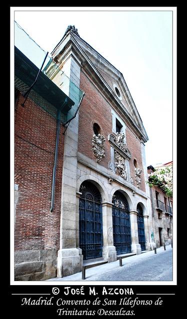 Madrid. Convento de San Ildefonso de Trinitarias Descalzas.