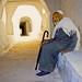 Ghadames غدامس, on his way to jomaa pray by منصور الصغير