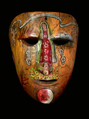 Antique Mexican Mask