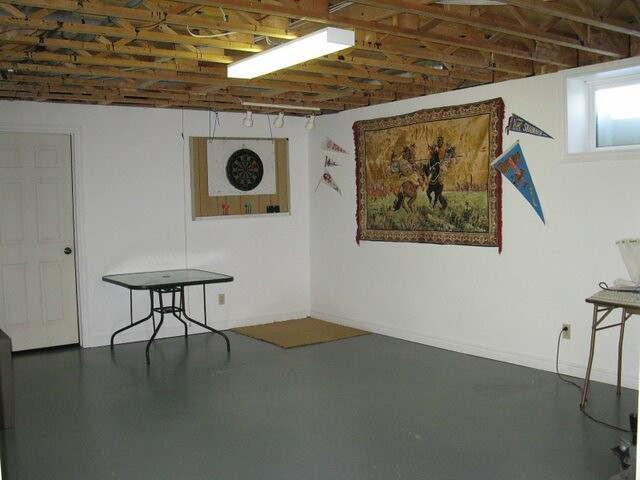 semi finished playroom in basement flickr photo sharing