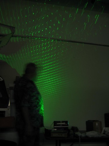 GO-Tech: Homebrew laser show