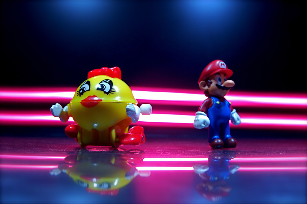 Ms. Pac-Man vs. Mario (117/365)