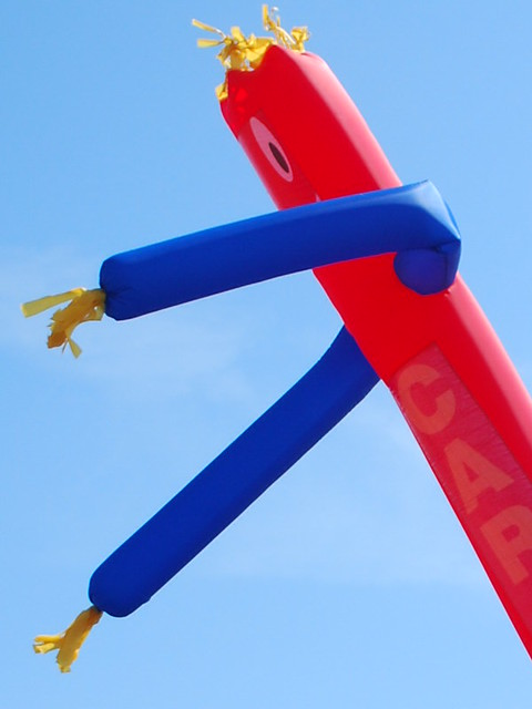 wacky waving inflatable arm flailing tube man joe martin flickr. Black Bedroom Furniture Sets. Home Design Ideas