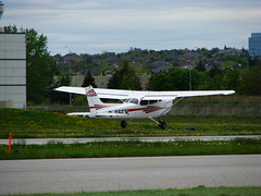 airline(0.0), cessna 182(0.0), cessna 172(0.0), flight(0.0), aircraft engine(0.0), aviation(1.0), airplane(1.0), propeller driven aircraft(1.0), wing(1.0), vehicle(1.0), light aircraft(1.0), takeoff(1.0),