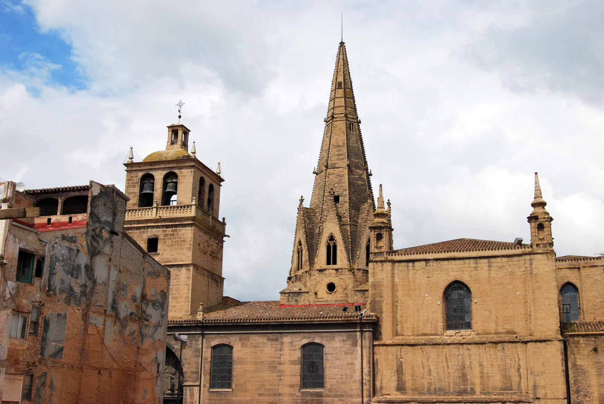 Iglesia Imperial Santa María de Palacio, Emblema de Logroño.: Una ...