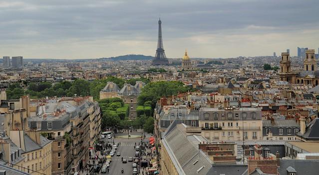 The view from Panthéon, Paris