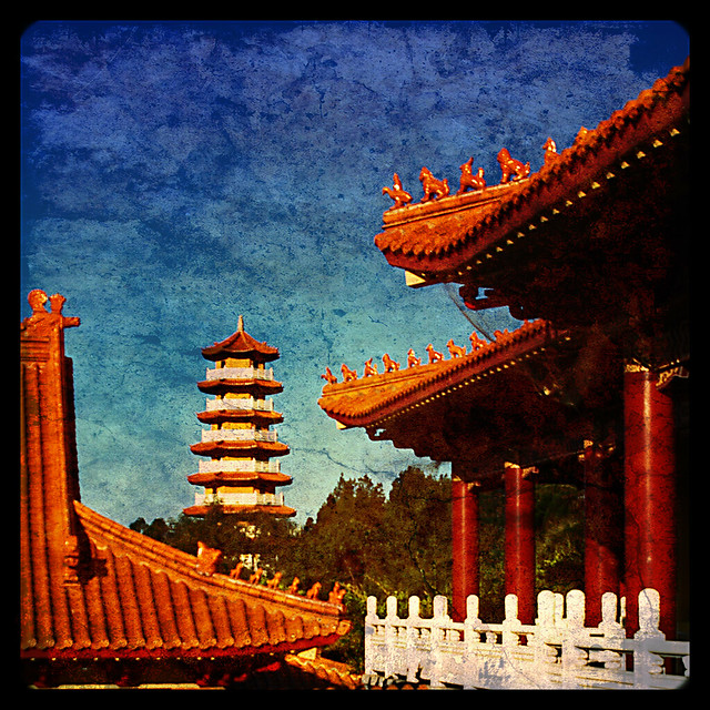 how to go to nan tien temple by train