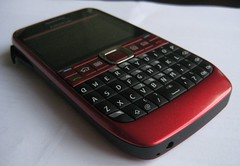 nokia mobile ruby red