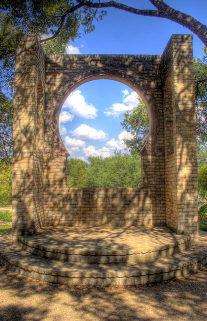 Butler Window In Zilker Botanical Gardens Austin Texas Flickr Photo Sharing