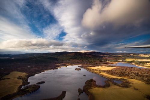scotland flying aberdeenshire aboyne gliding glider deeside