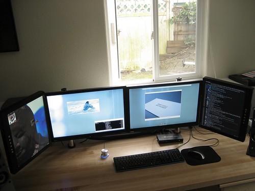 Desk rewire