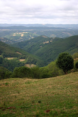 Aurelle Verlac vue vers la vallée du Lot
