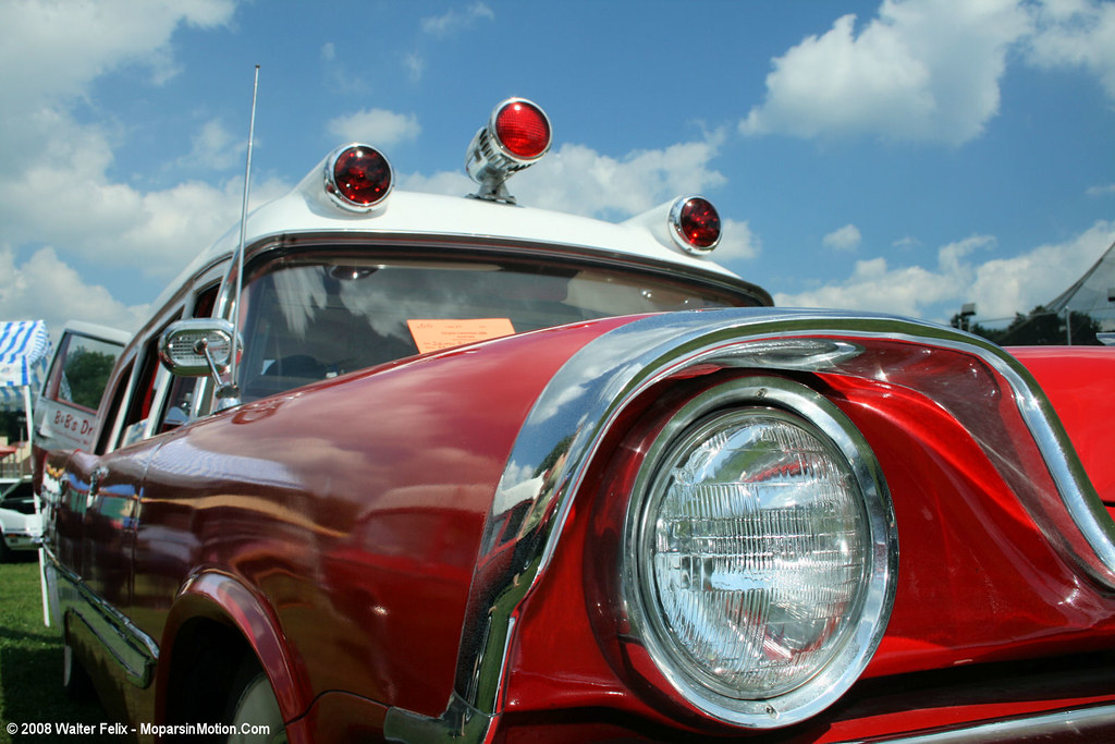 "1957 DeSoto Firesweep ""Memphian"" Ambulance"