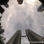 Petronas Towers, Fisheye - Kuala Lumpur, Malaysia