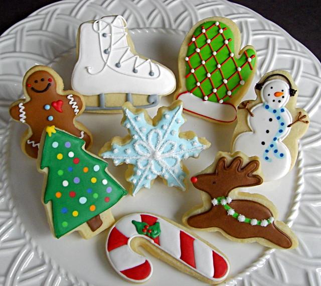 2008 Christmas Cookie Selection