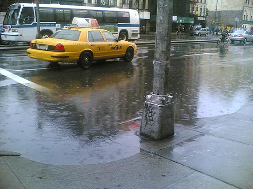 nasty epic puddle on houston st & avenue b