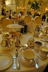 Tea time at the Ritz