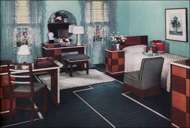 1930s Bedroom - a gallery on Flickr