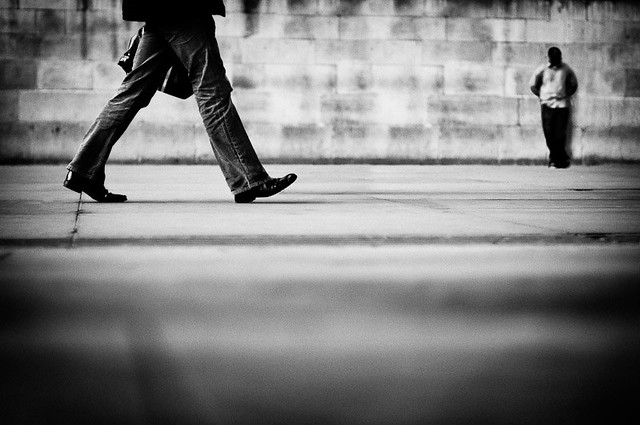 Faceless - 5 thing to do on a Street for Every Street Photographer