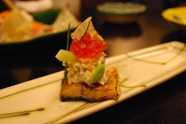 Ikura unagi canape shoya aud12 i also had to order a for Japanese canape