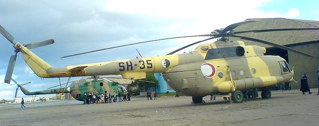 مروحية مي 17 -mi 17 للقوات الجوية الجزائرية + صور 3573753529_5f10d5b572_z