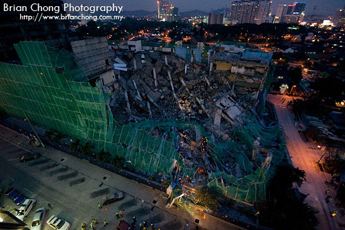 Aftermath - The Collapse of Old Jaya Supermarket in Section 14 Petaling Jaya