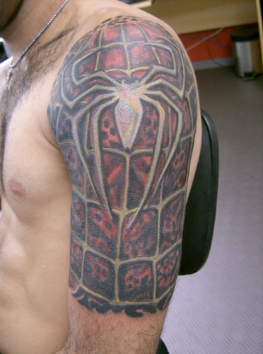 tatuagem homem aranha tattoo flickr photo sharing. Black Bedroom Furniture Sets. Home Design Ideas