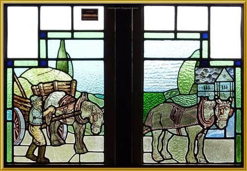Wagon and Horses