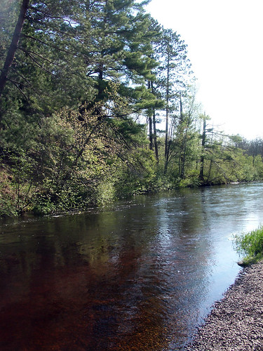 Brule River-at-campground 2