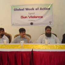 Week of Action Against Gun Violence 2011 - Grassroot in Action (GIA) - Peshwar Pakistan