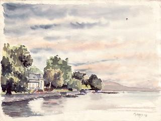 rive Suisse du Léman