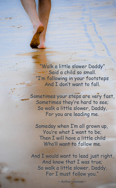 Walk a Little Slower, Daddy