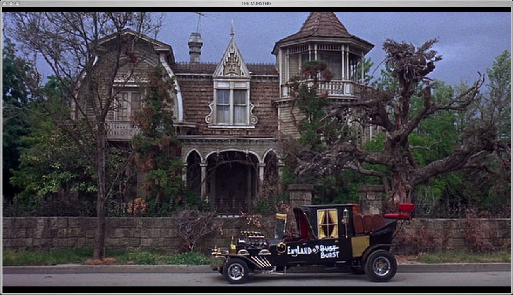 Floor Plans Of Tv Show Houses Munsters House Flickr Photo Sharing